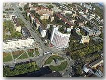 Городок чекистов и площадь Российской армии!