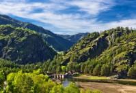 Алтай Чемальская ГЭС