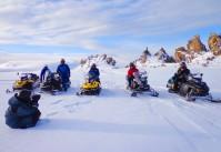 сафари на снегоходах, Алтай